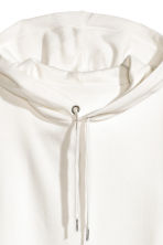 Hooded top - White - Ladies | H&M 3