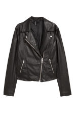 Biker jacket - Black - Ladies | H&M 1