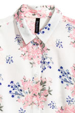 Viscose shirt - Light pink - Ladies | H&M CN 3