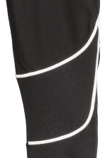 Winter running tights - Black -  | H&M CN 4
