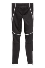 Winter running tights - Black -  | H&M CN 3