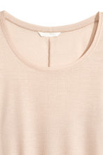 Long-sleeved top - Light beige - Ladies | H&M CA 3