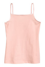2-pack jersey tops - Powder pink - Kids | H&M 2