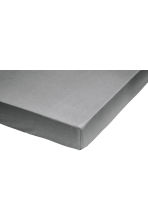 Fitted cotton sheet - Grey - Home All | H&M CA 1