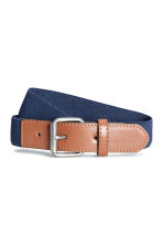 Elasticated fabric belt - Dark blue - Kids | H&M CA 1