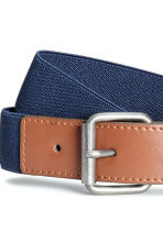 Elasticated fabric belt - Dark blue - Kids | H&M CA 2