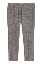 Suit trousers - Dark grey marl - Ladies | H&M GB 1
