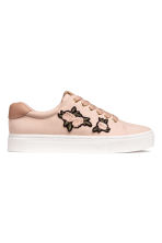 Trainers - Powder pink - Ladies | H&M CA 1