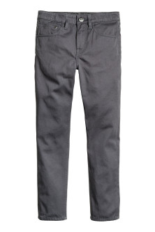 Pantalon en twill Coupe ample