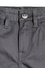 Generous fit Twill trousers - Dark grey -  | H&M 2