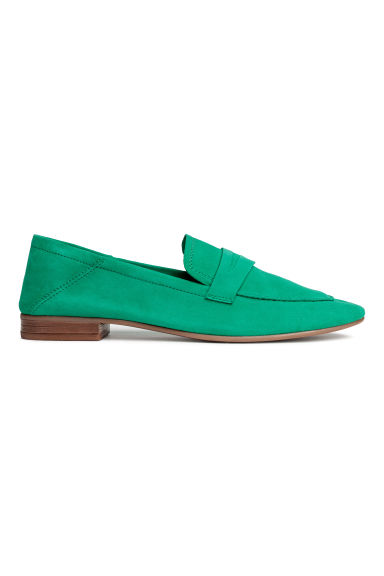 Loafers - Green - Ladies | H&M