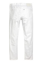 Relaxed Skinny Jeans - White denim - Men | H&M 3