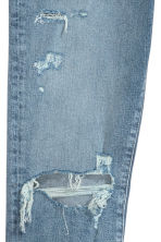 Relaxed Skinny Jeans - Denim blue/Trashed - Men | H&M 3