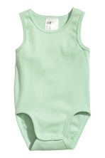 6-pack sleeveless bodysuits - White - Kids | H&M 2