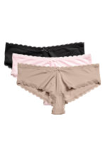3-pack hipster briefs - Light mole - Ladies | H&M 2