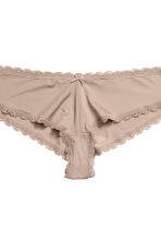 3-pack hipster briefs - Light mole - Ladies | H&M 4