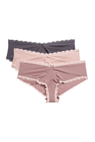 3-pack hipster briefs - Pink - Ladies | H&M