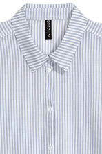 Cotton shirt - Blue/Striped - Ladies | H&M 3