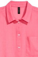 Cotton shirt - Pink - Ladies | H&M CN 3
