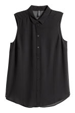 Sleeveless blouse - Black - Ladies | H&M CA 2