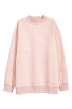 Sweatshirt with raglan sleeves - Powder pink marl - Ladies | H&M CN 2