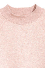 Sweatshirt with raglan sleeves - Powder pink marl - Ladies | H&M CN 3