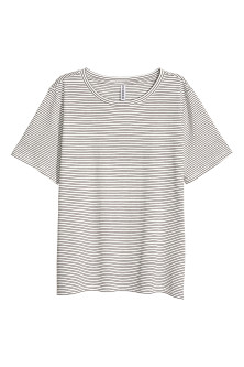 Cotton-blend T-shirt