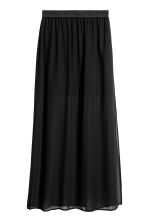 Long skirt - Black - Ladies | H&M CN 2