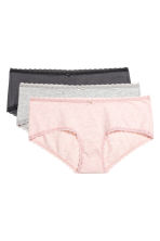 MAMA 3-pack hipster briefs - Light pink marl - Ladies | H&M 2