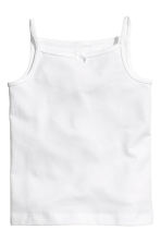 3-pack jersey strappy tops - White/Butterflies - Kids | H&M CA 2