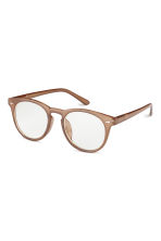Glasses - Light brown - Men | H&M 1