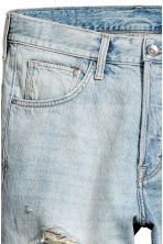 Denim shorts - Super light denim - Men | H&M 3