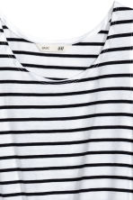 Jersey dress - White/Black striped - Kids | H&M CA 3