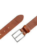 Leather belt - Dark rust red - Men | H&M 2