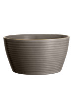 Textured bowl - Dark grey - Home All | H&M CA 1