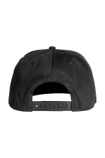 Cotton twill cap - Black - Men | H&M 2