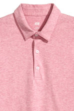 Polo shirt Slim Fit - Pink marl - Men | H&M CN 3