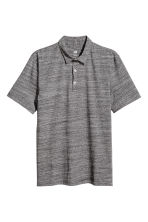 Polo shirt Slim Fit - Dark grey marl - Men | H&M 2