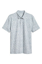 Polo - Slim fit - Blauw gemêleerd - HEREN | H&M BE 2