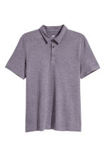 貼身Polo衫 - Purple marl - Men | H&M 1