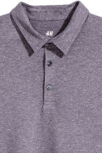 貼身Polo衫 - Purple marl - Men | H&M 2