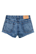 Denim shorts - Blue washed out - Ladies | H&M 3