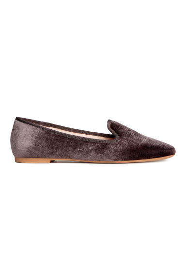 Loafers - Donkergrijs - DAMES | H&M BE 1