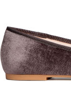 Loafers - Donkergrijs - DAMES | H&M BE 4