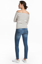 MAMA Skinny Jeans - Mid denim blue - Ladies | H&M 4