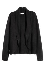 Cardigan con collo a scialle - Nero - DONNA | H&M IT 2