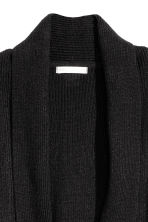 Cardigan con collo a scialle - Nero - DONNA | H&M IT 3