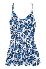 Playsuit - White/Floral - Ladies | H&M 2