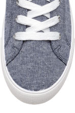 Twill trainers - Blue marl - Ladies | H&M CN 3