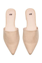 Mules - Light beige - Ladies | H&M 3